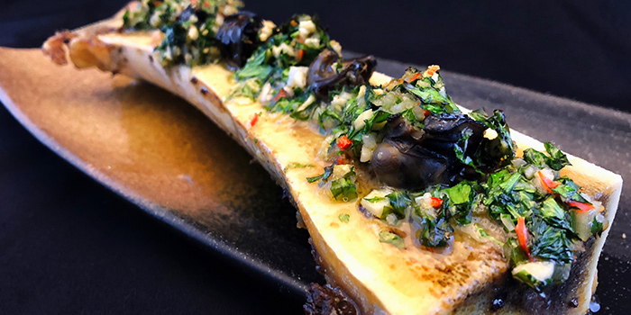 Escargot on Bone Marrow from FrapasBar by Saveur (Cathay) in Dhoby Ghaut, Singapore