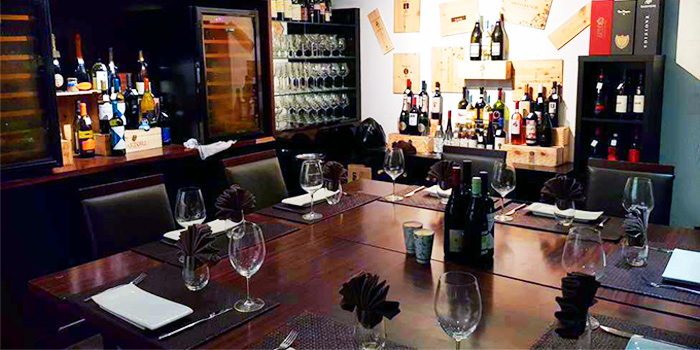 Dining Area of Fratini La Trattoria in Bukit Timah, Singapore