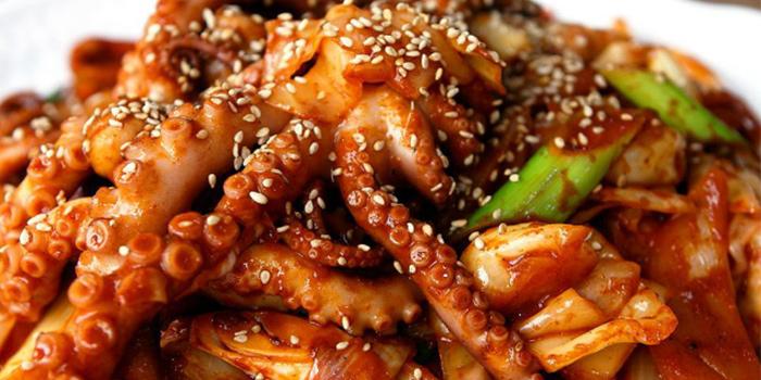 Fried Octopus from Friends Tasty Korea in Sembawang, Singapore