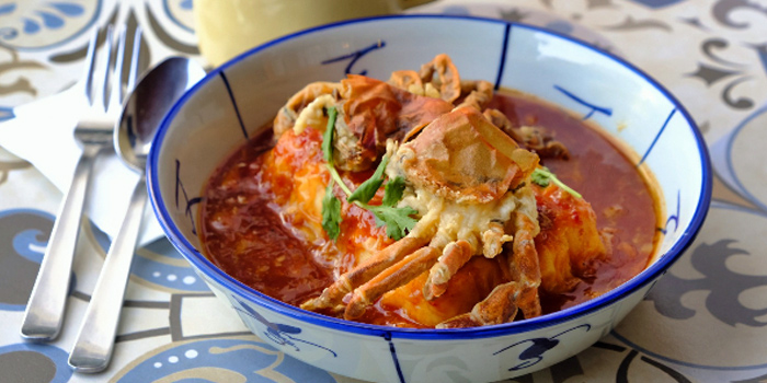 Chilli Crab Tofu from Good Time Eat Drink in East Coast, Singapore