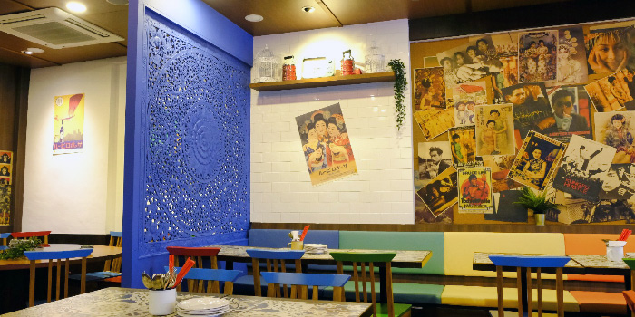 Interior of Good Time Eat Drink in East Coast, Singapore