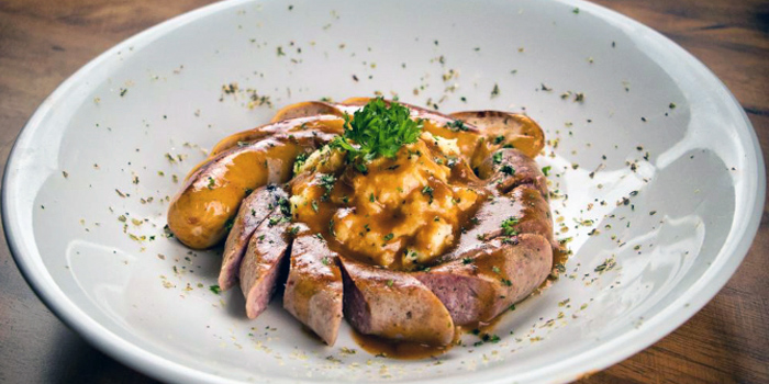 Bangers and Mash from Grapevine Bar & Restaurant in Serangoon, Singapore