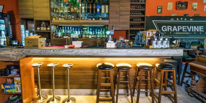 Interior of Grapevine Bar & Restaurant in Serangoon, Singapore