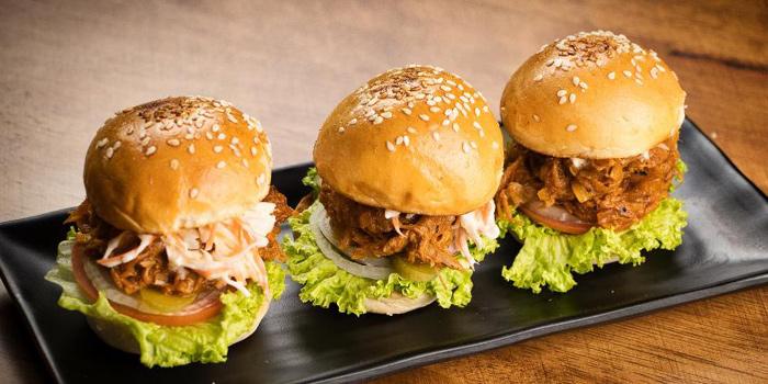 Pulled Pork Sliders from Grapevine Bar & Restaurant in Serangoon, Singapore