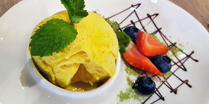 Mango Ice Cream from Gustoso Ristorante Italiano in Seletar, Singapore