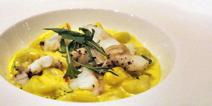 Zaffron Cream Potato Gnocchi from Gustoso Ristorante Italiano in Seletar, Singapore