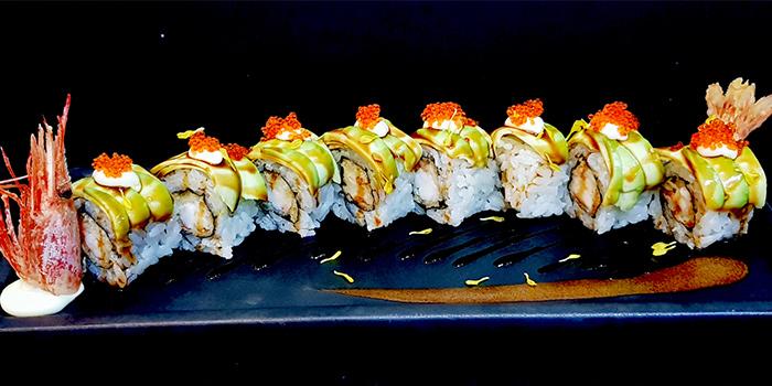 Dragon Maki from Ichida Japanese Dining in Club Street, Singapore