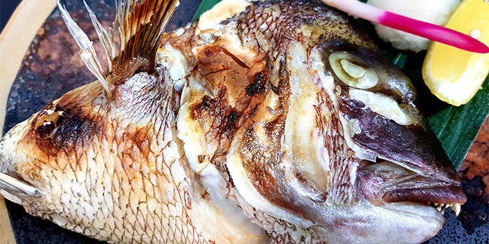 Fish Head from Ichida Japanese Dining in Club Street, Singapore