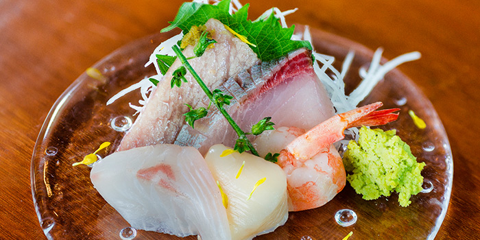 Sashimi from Ichida Japanese Dining in Club Street, Singapore