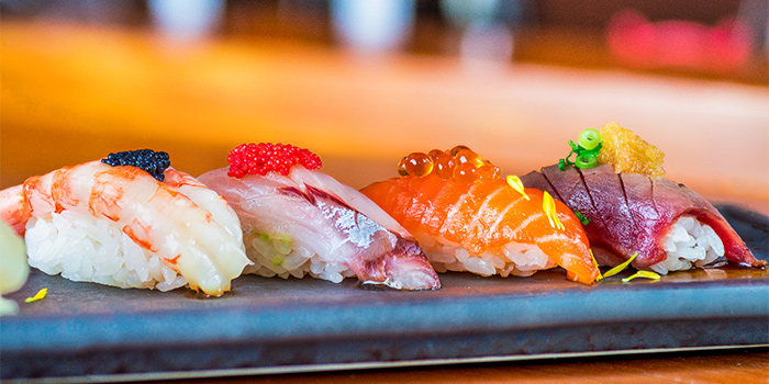 Sushi from Ichida Japanese Dining in Club Street, Singapore