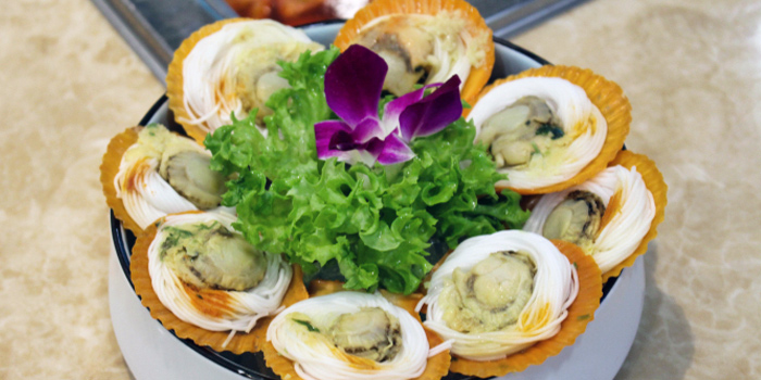 Scallops from King of Hot Pot at Oasis Terraces in Punggol, Singapore