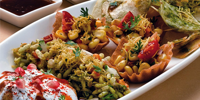 Chaat Platter from Kailash Parbat (Little India) in Little India, Singapore