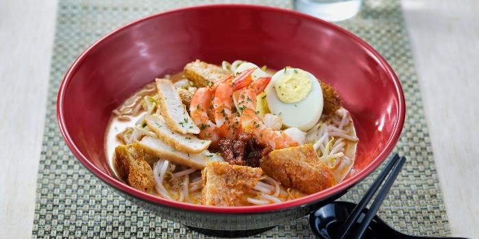 Laksa from Katong Kitchen at Village Hotel Katong in East Coast, Singapore