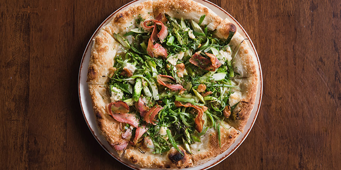 Asparagus Pizza from LINO in Bukit Timah, Singapore