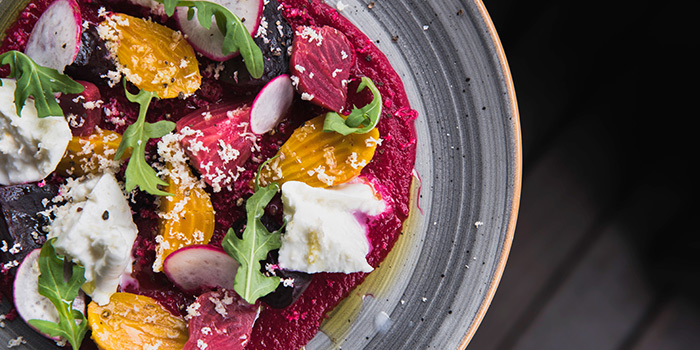 Roasted Beetroot Salad from LINO in Bukit Timah, Singapore