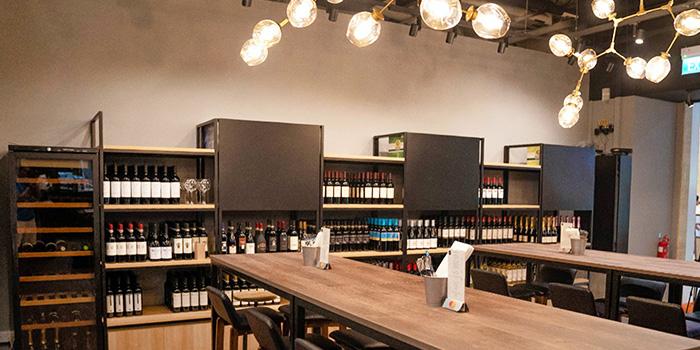 Dining Area of Morettino Italian Café & Bistro at 100 AM in Tanjong Pagar, Singapore