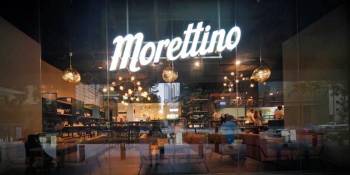 Shopfront of Morettino Cafe at 100 AM in Tanjong Pagar, Singapore