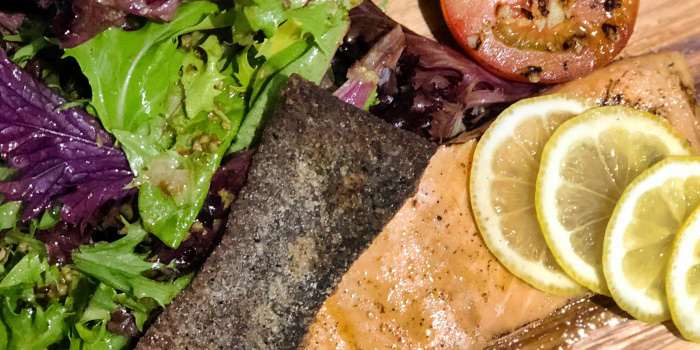 Salmon from Quick Fix Bistro & Bar in Kallang, Singapore
