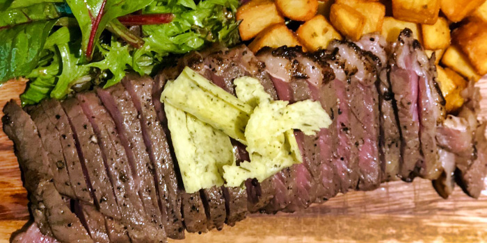 Striploin Steak from Quick Fix Bistro & Bar in Kallang, Singapore