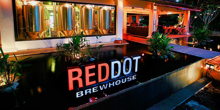 Frontstage of RedDot BrewHouse @ Dempsey Hill in Dempsey, Singapore
