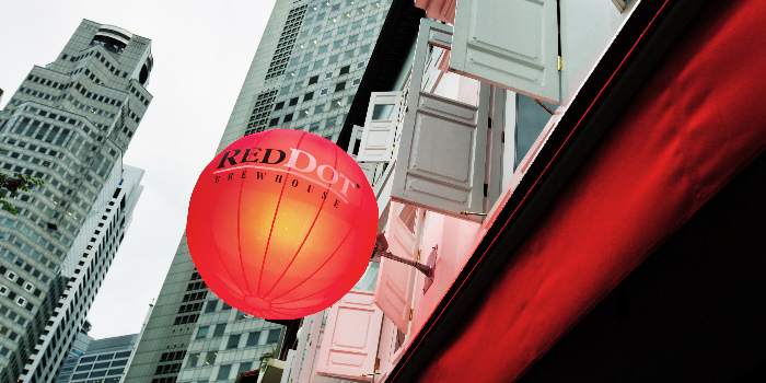 Exterior of RedDot BrewHouse @ Boat Quay in Boat Quay, Singapore