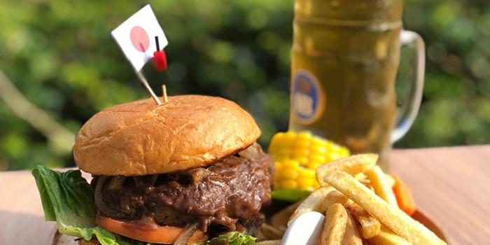 Iwate Wagyu Beef Hamburger from Ryu