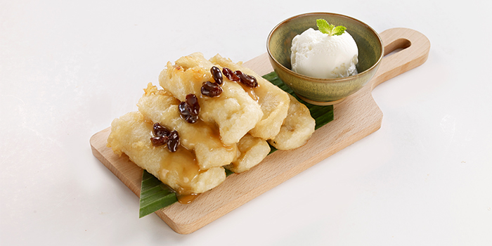 Banana Tempura from Siam Kitchen (Lot 1) in Choa Chu Kang, Singapore