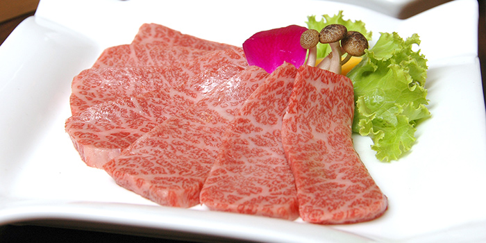 Wagyu Beef from Tenkaichi Japanese BBQ Restaurant (Marina Square) in Promenade, Singapore
