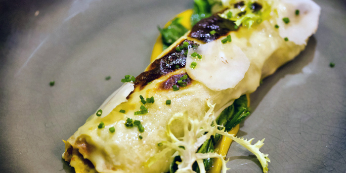 Masala Chicken Cannelloni from The Obelisk in Tanjong Pagar, Singapore
