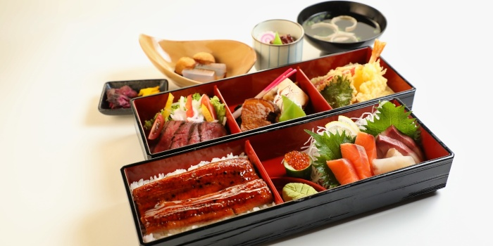 Unagi Bento Set from Una Una (Suntec) at Suntec City Mall in Promenade, Singapore