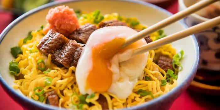 Unagi Ramen with Egg from Una Una (Suntec) at Suntec City Mall in Promenade, Singapore