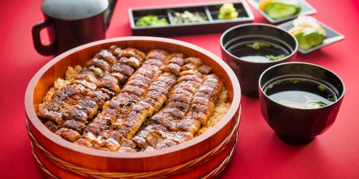 Large Unagi Set from Unagiya Ichinoji Dining (Suntec City) at Suntec City Mall in Promenade, Singapore