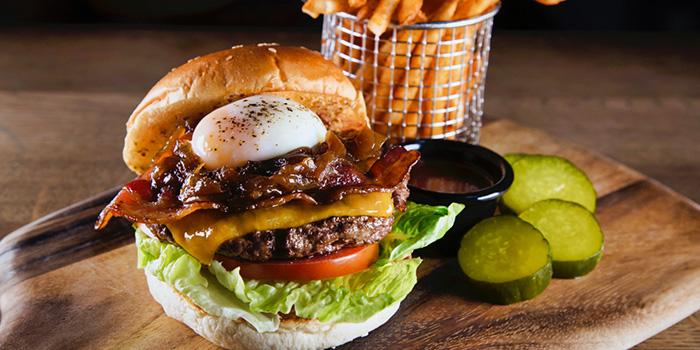 Ultimate Beef Yard Burger from Wheeler