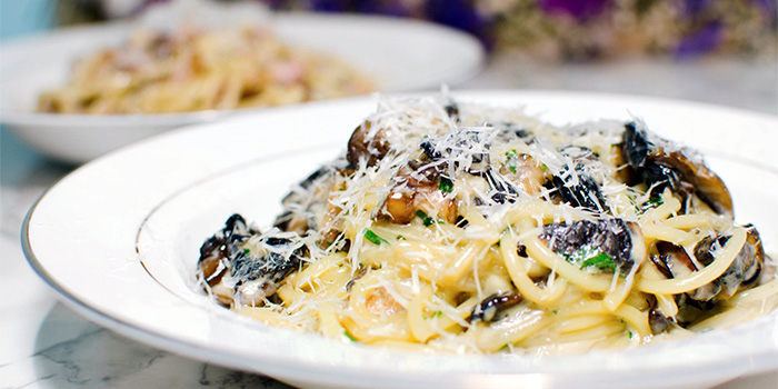 Truffle Mushroom Pasta from Wild Blooms in Serangoon, Singapore