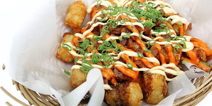 Tater-tots Attack from Wild Blooms in Serangoon, Singapore