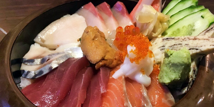 Sashimi from Yumeya Japanese Restaurant in Robertson Quay, Singapore