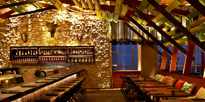 Interior at Skye Restaurant