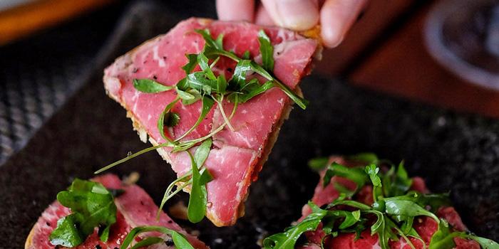 Tuna Feuliette at Skye Restaurant