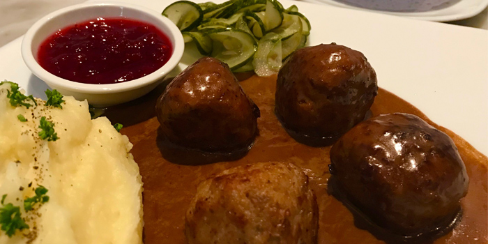 SWEDISH-MEATBALLS from Thong Dee-The Kathu Brasserie, Kathu, Phuket, Thailand