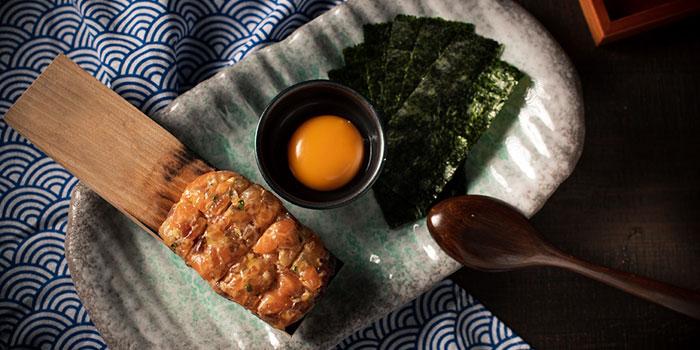 Seared Miso Sashimi Tartar, UOHARU, Central, Hong Kong