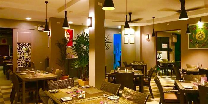 Seating-fan-area of Thong Dee-The Kathu Brasserie, Kathu, Phuket, Thailand