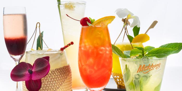 Selection of Cocktail from Patara fine Thai cuisine at 375 Thonglor Soi19 Sukhumvit Soi55 Khlong Tan Nuea Bangkok