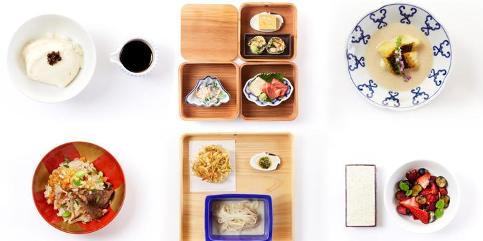 Selection of Food from Mihara Tofuten Bangkok at 159/3 South Sathorn Road Tungmahamek, Sathorn Bangkok