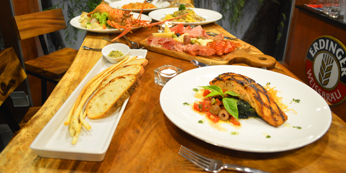 Selection of Food from Brunello at 15 Soi Rama IX 58 Suanluang Bangkok