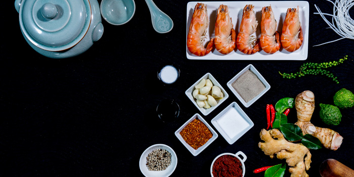 Selection of Ingredient from DID at Sheraton Grande Hotel, Bangkok