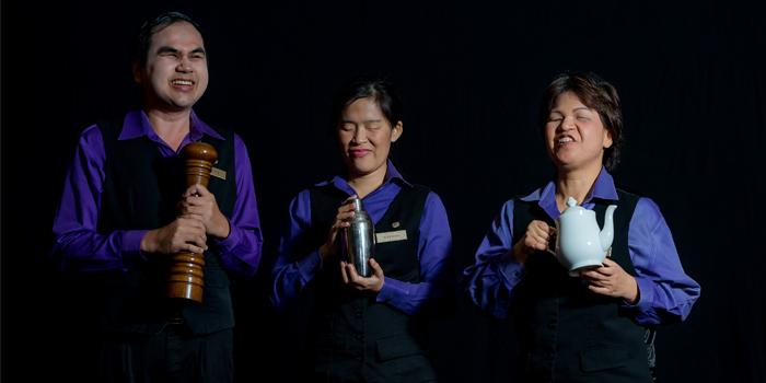 Service Ambience of DID at Sheraton Grande Hotel, Bangkok