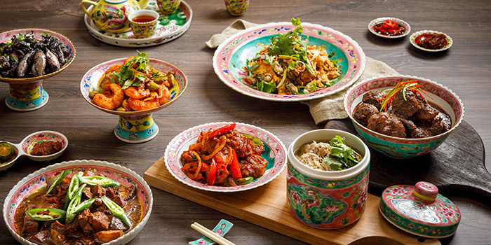 Singapore Flavours Spread from Spices Cafe in Concorde Hotel Singapore in Orchard, Singapore