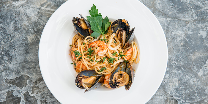 Spaghetti Scoglio, Fratelli, Repulse Bay, Hong Kong