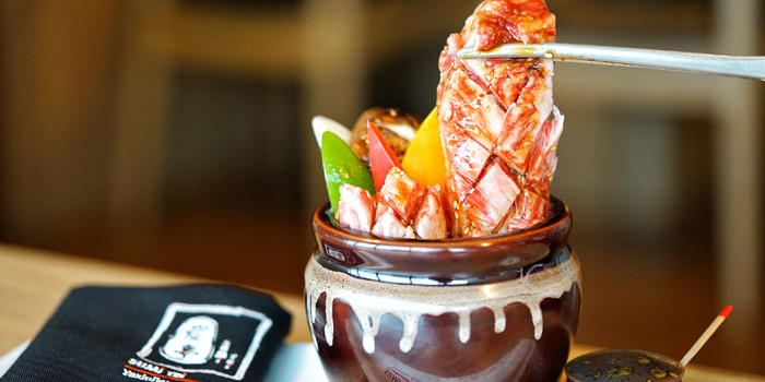 Special Dishes from Sumi Tei Yakiniku Restaurant at J avenue, Thonglor 13 Sukhumvit 55, Wattana Bangkok