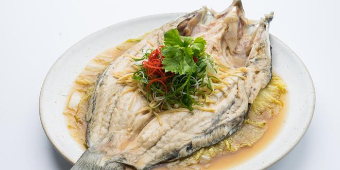 Steamed Sea Bass from Patara fine Thai cuisine at 375 Thonglor Soi19 Sukhumvit Soi55 Khlong Tan Nuea Bangkok